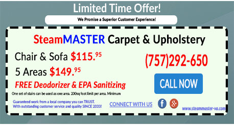 SteamMaster Cleaning Specials